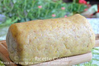 Pasta frolla con farina integrale e doppio zero